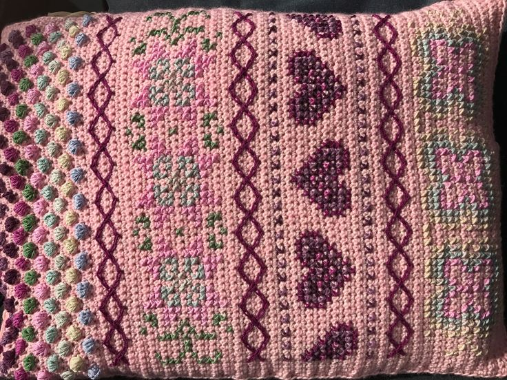 Deel 1 als kussen ipv omslag sjaal