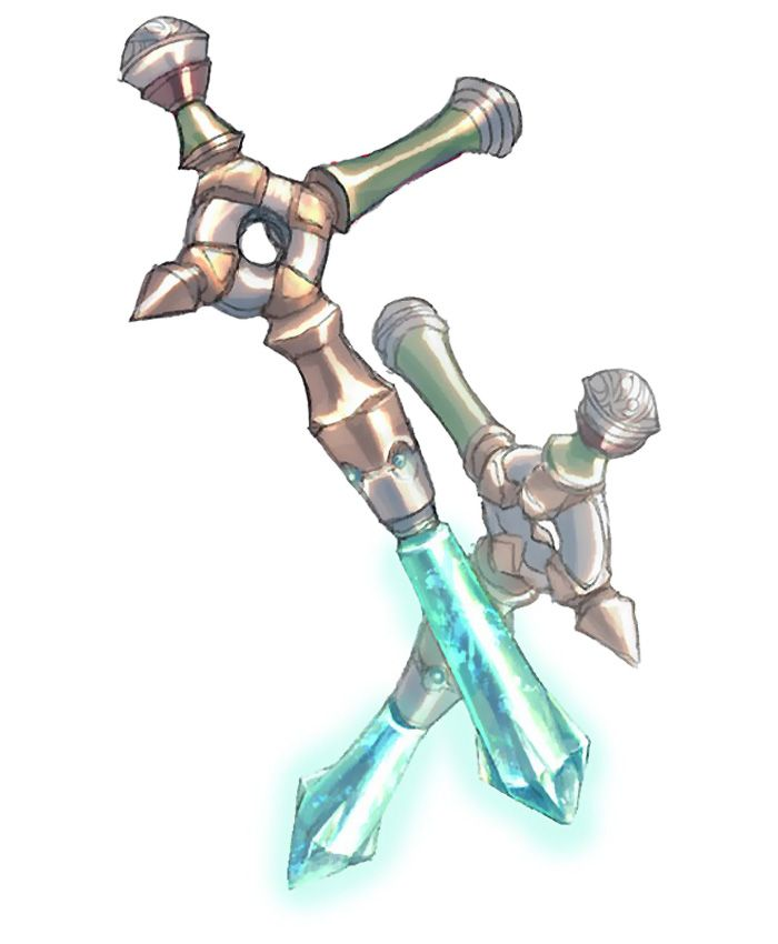 Tonfa from Wild Arms XF
