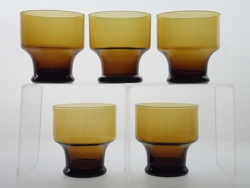 Iittala wine glasses. Designed by Tapio Wirkkala