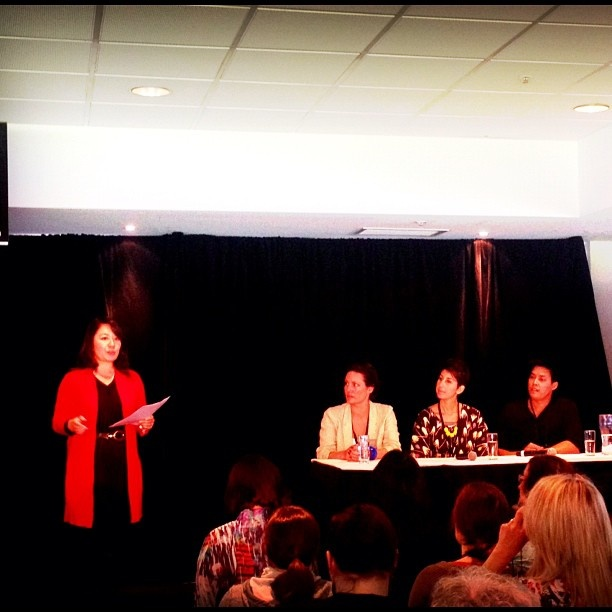 Fab to moderate the panel at #pbevent with @crashtest_mummy @mypoppetshop @zenpencils