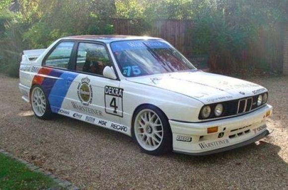 1988 BMW M3 E30 DTM Race Car For Sale Interior Front