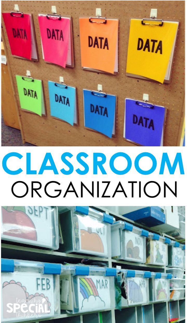 Get Organized for the New Year: How to be Efficient and Stay on Top of Classroom Materials