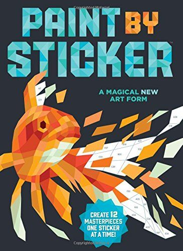 """Paint by Sticker as a library program """"purchased multiple copies of the ...books, took them apart, and let the attendees choose which one they would like to do."""""""