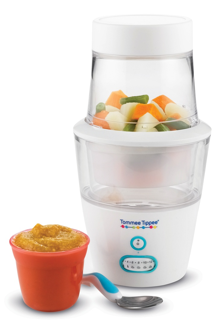 Tommee Tippee® All-In-One Food Processor #tommeetippeeau #babyfood #baby #weaning #babyshower #giftregistry #firstsolids #organic #blender #steamer #warmer #steriliser #puree #portable #foodprocessor #kitchengadget