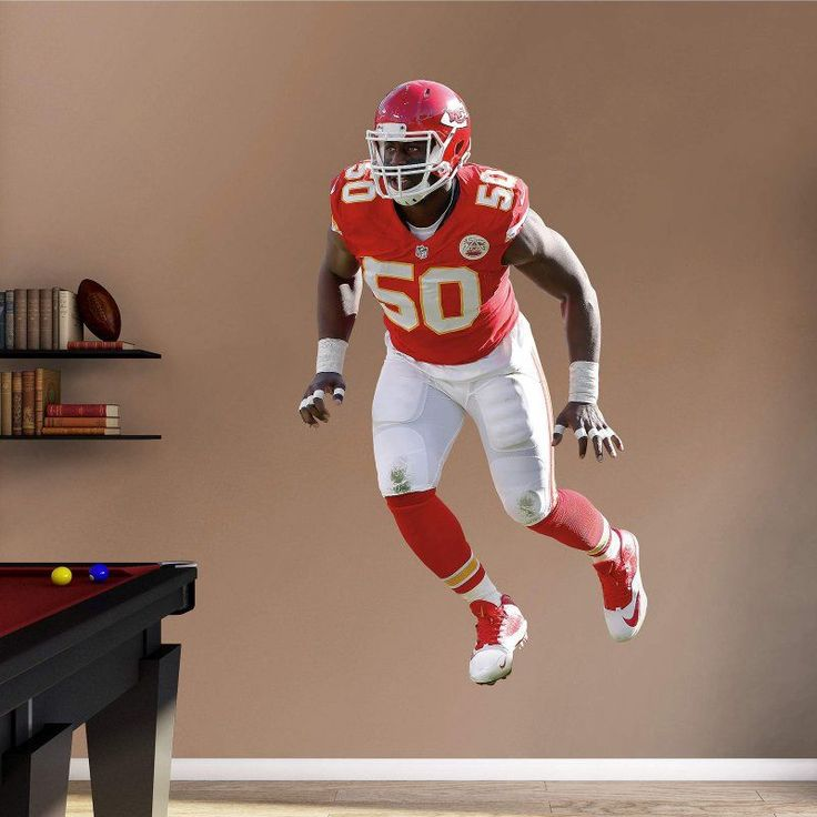 Fathead NFL Kansas City Chiefs Justin Houston Wall Decal - 12-21396