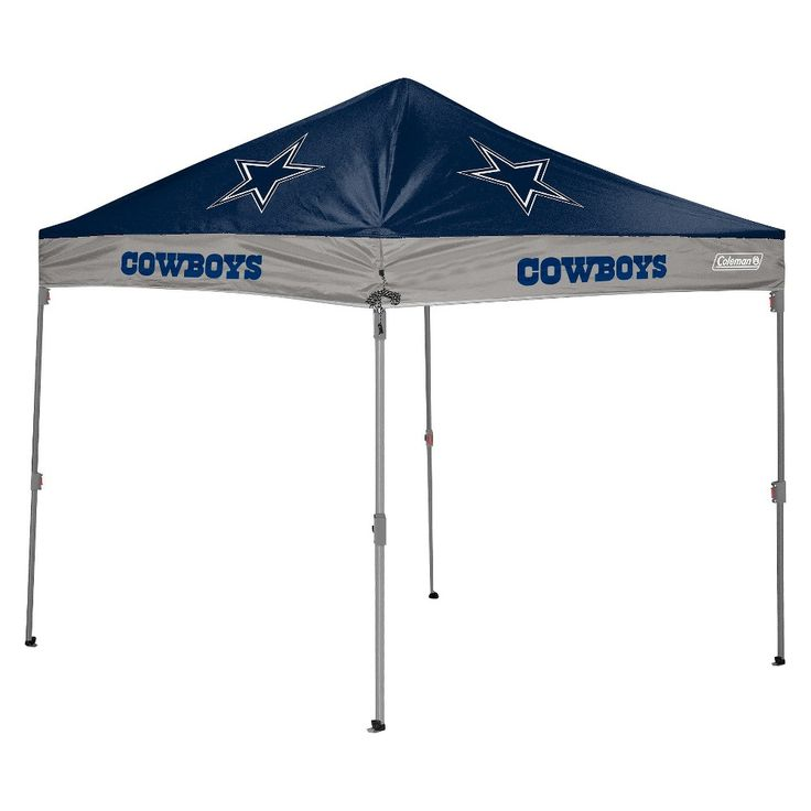 Coleman Nfl Tennessee Titans 174 10 X10 Straight Leg Canopy