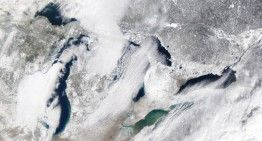 58 mph wind reported in Michigan; See the HIGH winds here! February 19, 2016
