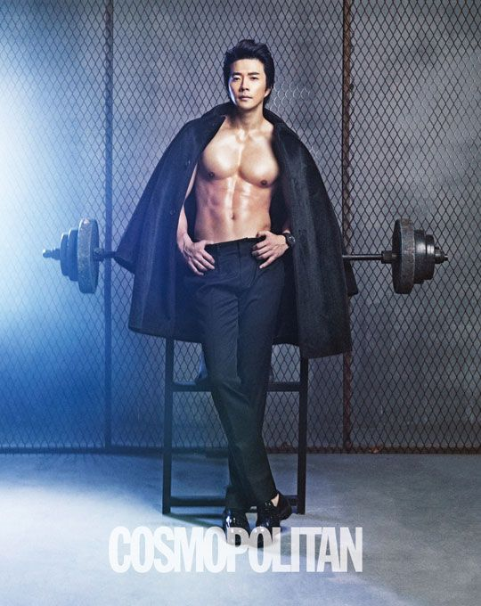 Kwon Sang Woo in Cosmopolitan Korea February 2013