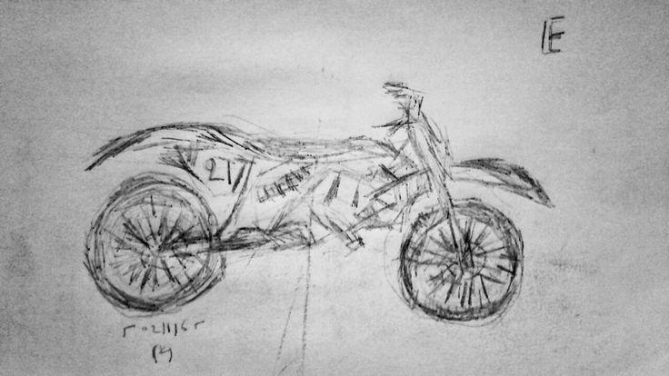 Motorcycle E, by Yorgos ΖΗΤΩ (2016)