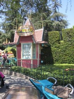 """""""10. The original ticket booths for some of the rides are still inside the park.  If you walk around Fantasyland you may notice some peculiar structures that either seem out of place or have no purpose other than decoration. Well these structures are actually the original ticket booths from 1955. Back when the park opened rides were not included in the price of the park. Guests had to buy tickets for the rides that they wanted to go on at ticket booths that were located next to the ride"""""""