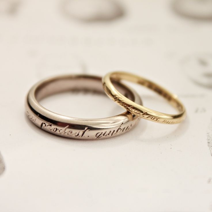 Engraving Ideas For Wedding Bands: Beautiful Engraved Wedding Bands. I Want Mine And Edgar's