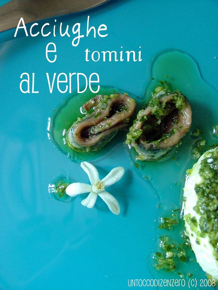 Cucina piemontese: acciughe al verde & tumin