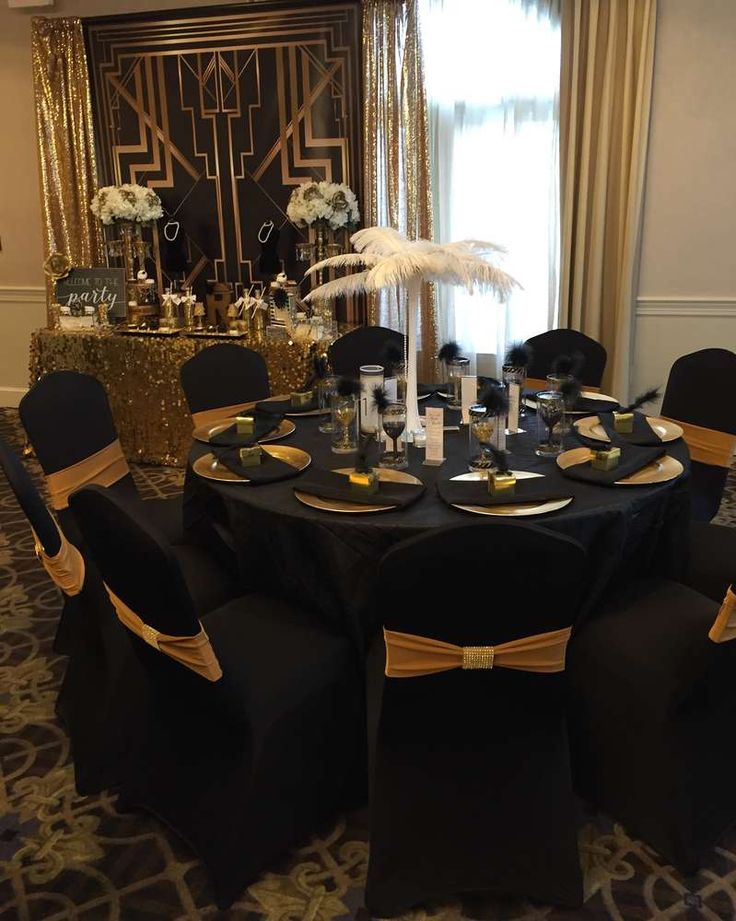 Great Gatsby Birthday Party Ideas | Photo 2 of 22 | Catch My Party