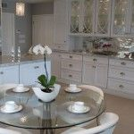 The more or less the spherical glass kitchen tables units are the favourite taste can also be discovered usually in up to date other people hous