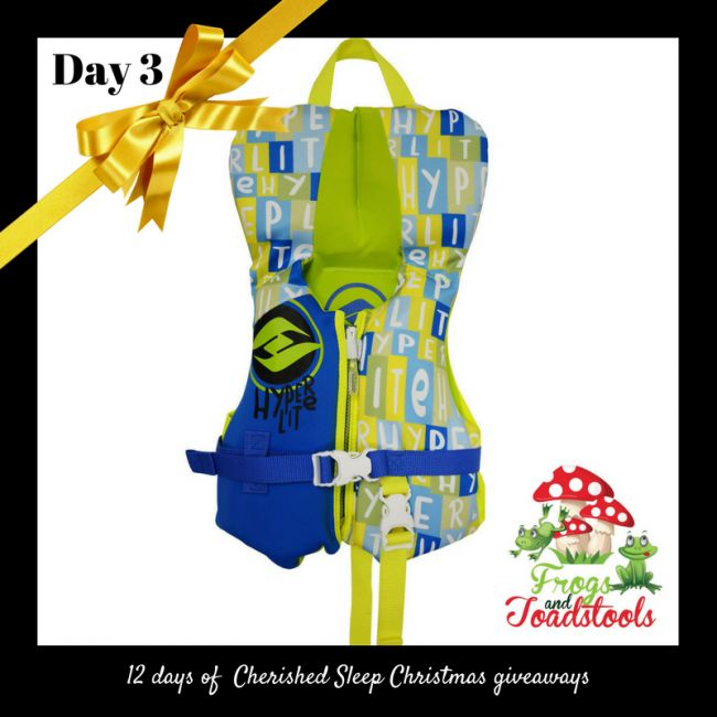 Enter to win: Hyperlite Neo Infant Vest from Frogs and Toadstools | http://www.dango.co.nz/pinterestRedirect.php?u=cNZzliLXOTJ4536