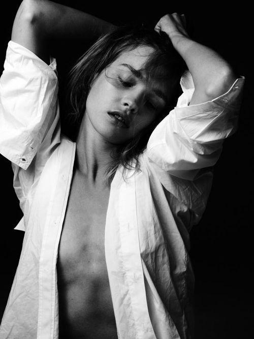 Natalia Vodianova by Hedi Slimane