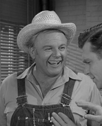 Alan Hale Jr. as Jeff Pruitt - Called Barney 'Little Buddy' - I bet Gilligan was jealous!! (Alan was the Skipper on Gilligan's Island).