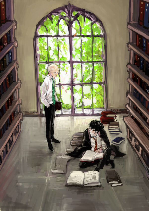 Harry Potter, Draco Malfoy fanart library