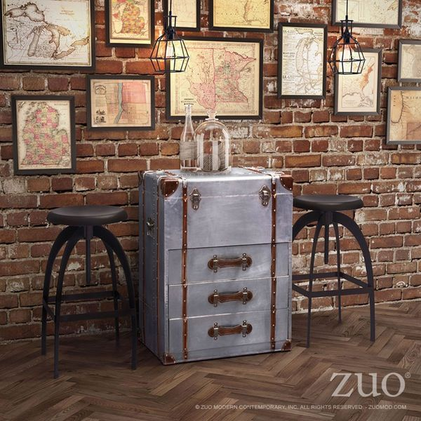 Zuo Descombes Flip Top Trunk - Discontinued.