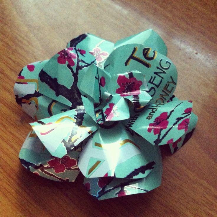 How to Make an Arizona Green Tea Metal Flower