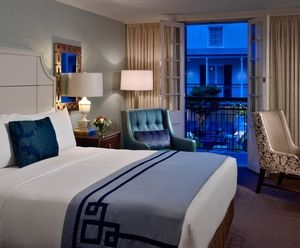 Royal Sonesta New Orleans Is All Jazzed Up! NEWLY Appointed Pool Or Patio  Guest Room