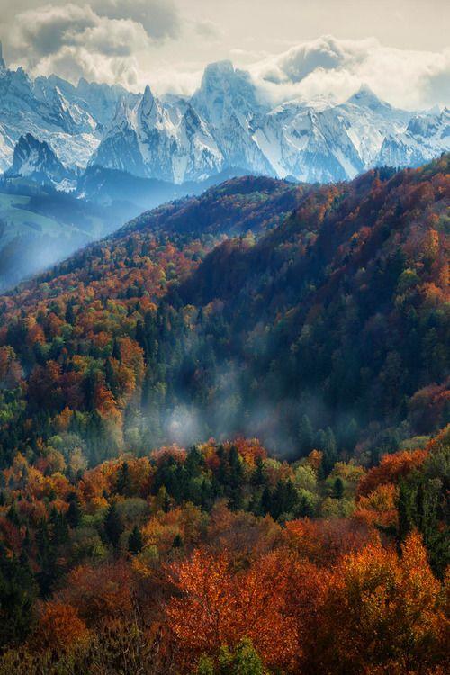 Switzerland - Autumn in the Alps