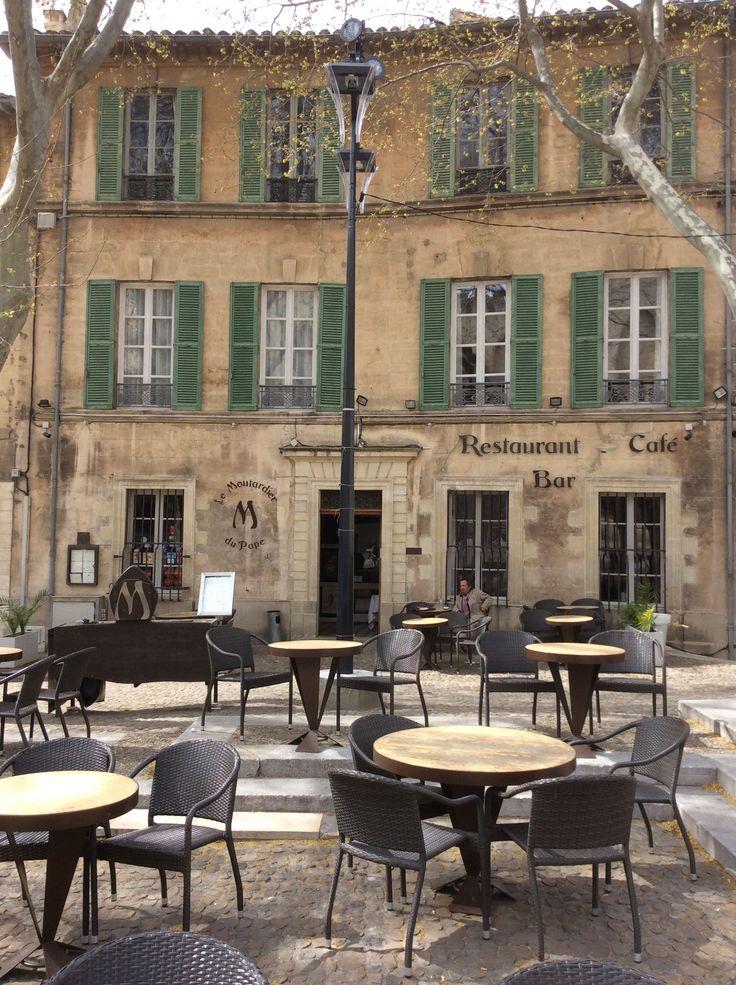 Restaurant le moutardier du pape avignon france pinterest restaurant - Restaurant la mirande avignon ...