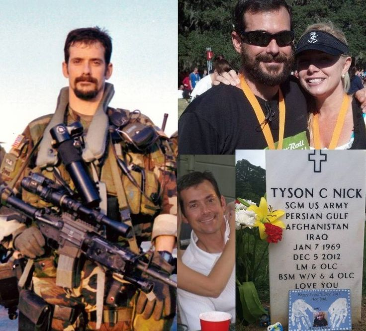 In honor of SgtM Tyson Nick who was killed while repelling ...