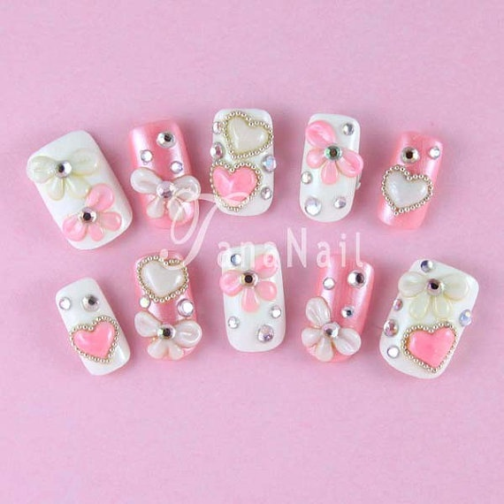 476 best 3D Japanese Nail Art images on Pinterest | Acrylic nail art ...