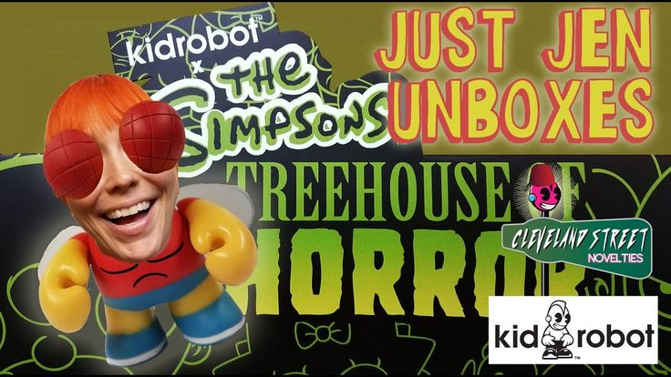 KidRobot The Simpsons Treehouse Of Horrors Blind Box Unboxing Just Jen