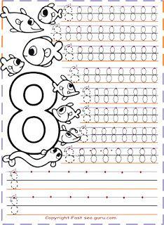 #preschool #okulöncesi #kindergarten #sayılar #sanatetkinliği #kidscraft #sayıboyama #numbers #numbertracingworksheets