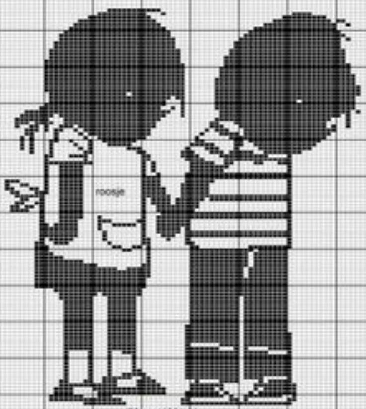 Jip en Janneke #strijkkralen