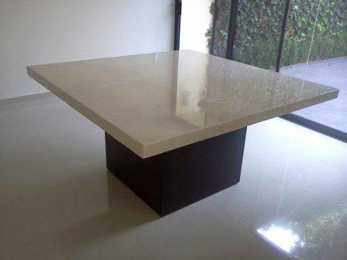 Mesa Para Comedor Marmol Crema Marfil - $ 8,200.00