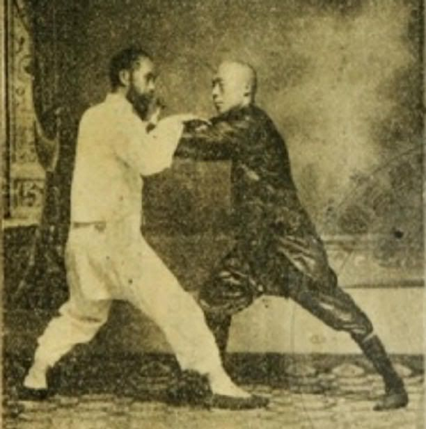 """Pushing Hands"" is a translation of the Chinese word 'Tui Shou', which is the Chinese name for a set of partner drills connected to Tai Chi Chuan."