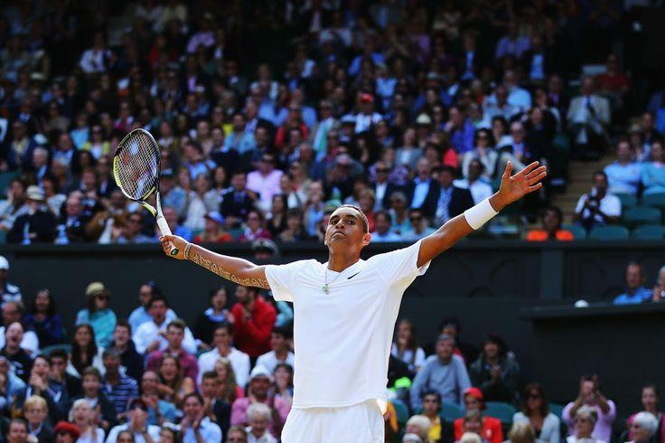 Nick Kyrgios @JugamosTenis #tennis Wimbledon 2014