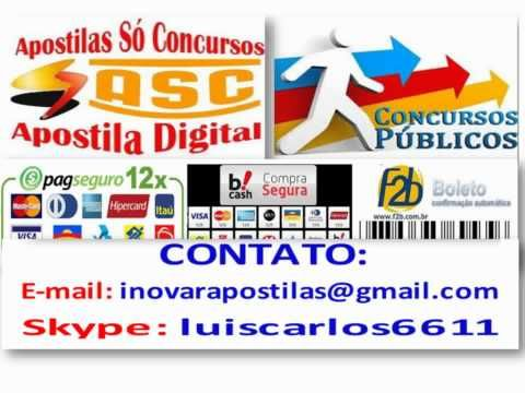 Concursos Públicos 2014 Apostila do Concurso Seduc PI Professor SL Letra...