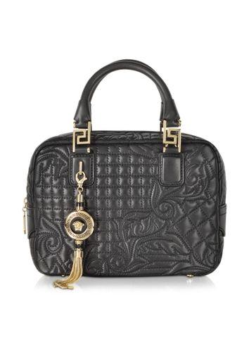 Versace Micro Vanitas Demetra gesteppte Handtasche