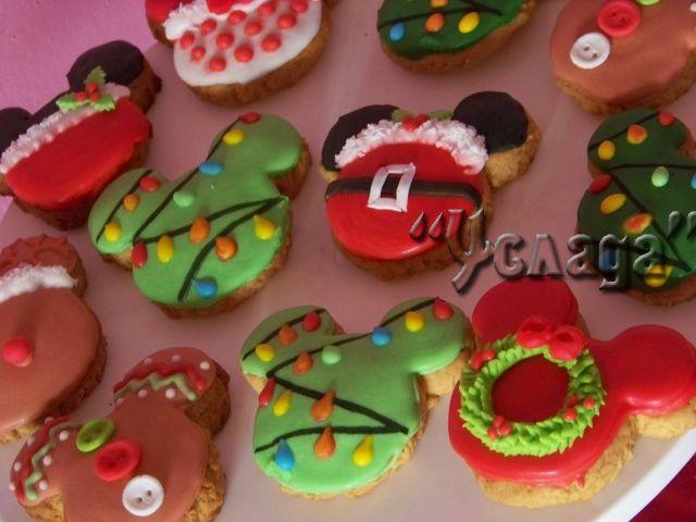 Пряники рождественские Микки Маус: продажа, цена в Днепропетровске, Услада