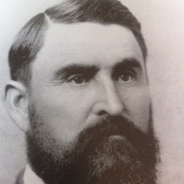 Charles Goodnight, Cattleman and former Texas Ranger. Movie Lonesome Dove based on Goodnight, Oliver Loving and Bose Ikard.