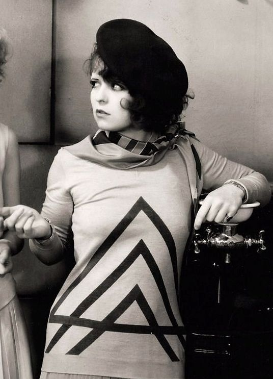 Clara Bow in The Wild Party, 1929.