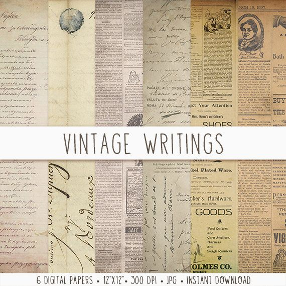 1000 Ideas About Vintage Newspaper On Pinterest Old