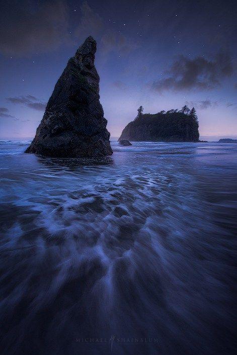 Ruby Beach en la Península Olímpica de Washington