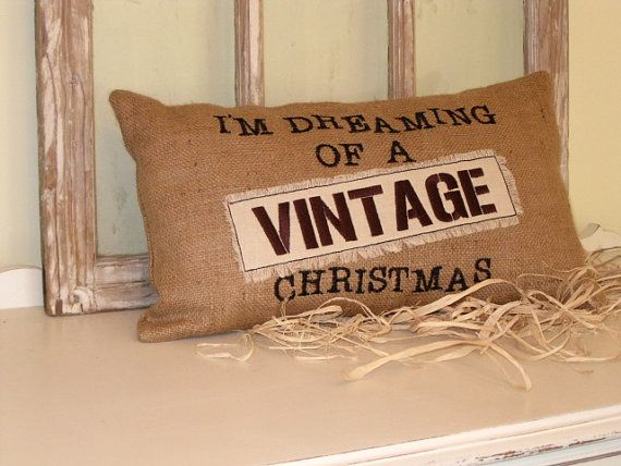 I'm dreaming of a 'Vintage' Christmas by BrambleWoodANDivy on Etsy