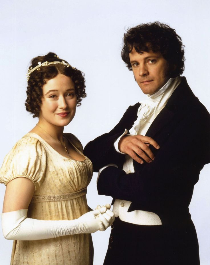 Mr. Darcy and Elizabeth Bennet.