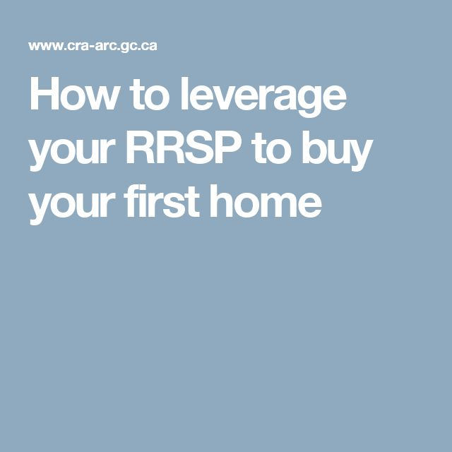 How to leverage your RRSP to buy your first home
