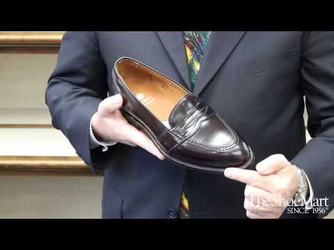 Joe Zapatka from TheShoeMart shares information about the fitting properties and profile of the #Alden #Aberdeen Last.   www.TheShoeMart.com #AldenShoes