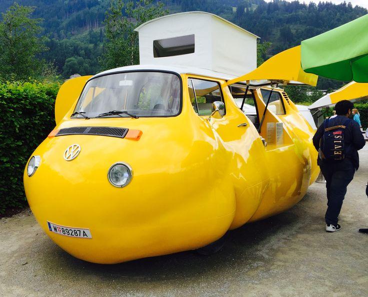 Hot Dog Cart, Swarovski Crystal Worlds, Austria