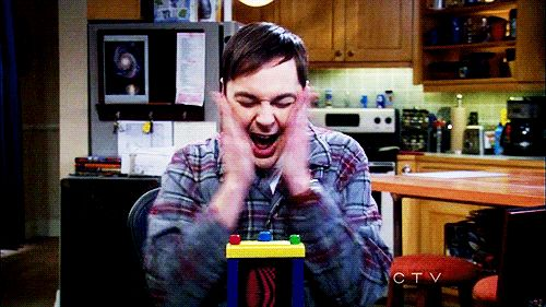 And get super excited about the things you love. | 22 Indications You Are The Sheldon Cooper Of Your Friend Group