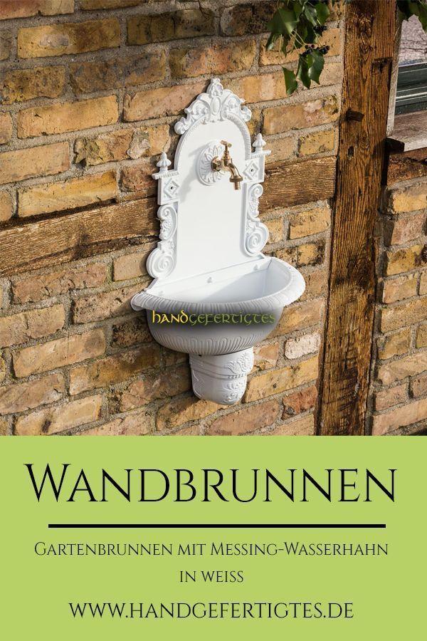 Handwaschbecken Mit Schlauchanschluss Gartenbrunnen Waschbecken Zapfstelle Gartenbrunnen Brunnen Waschtisch