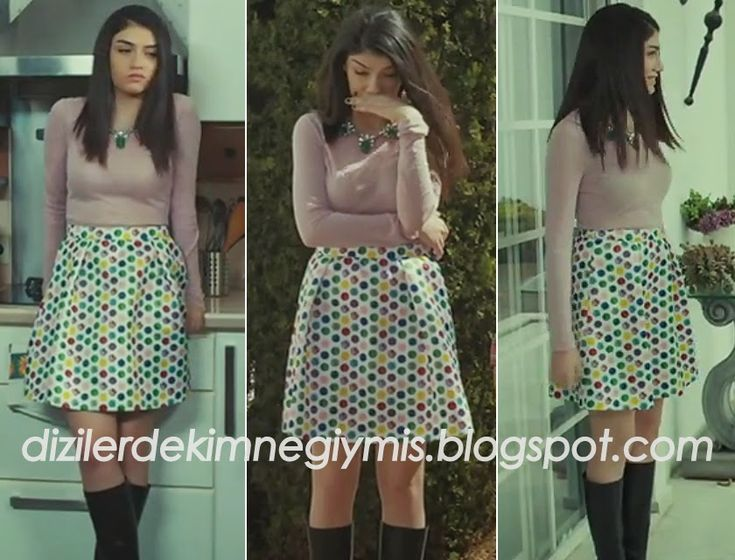 Medcezir - Eyll (Hazar Ergl), Printed Skirt please follow me,thank you i will refollow you later